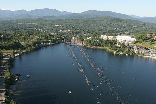 Ironman Lake Placid Swim